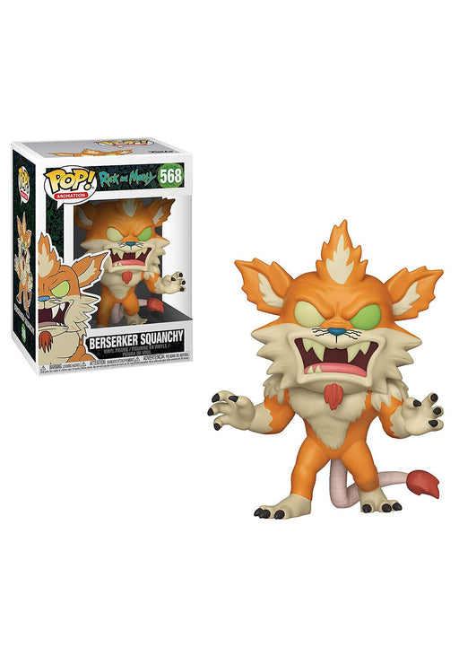 Funko POP! Rick & Morty S6 - Berserker Squanchy