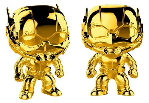 Funko POP! Marvel Studios 10: Gold Chrome - Ant-Man