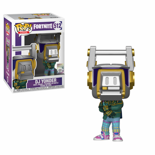 Funko POP! Vinyl Games: Fortnite S3 - DJ Yonder