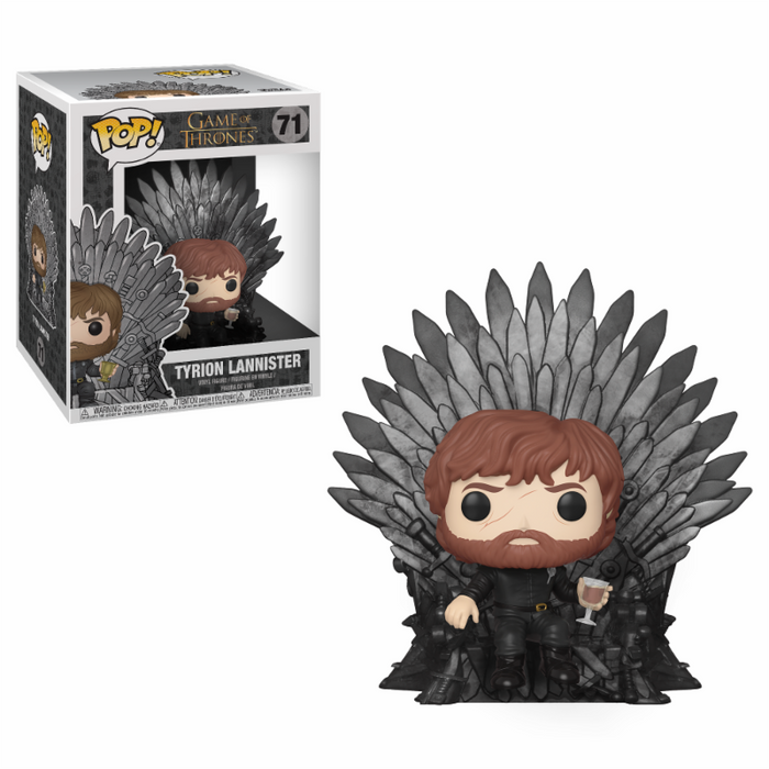 Funko POP! Deluxe: Game Of Thrones - Tyrion On Throne