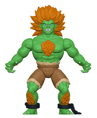 Funko Savage World: Street fighter Action Figure- Blanka W/ Chase