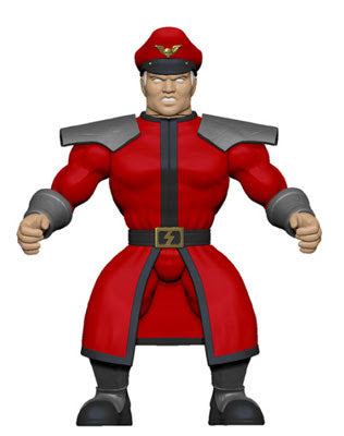 Funko Savage World: Street fighter Action Figure- M. Bison
