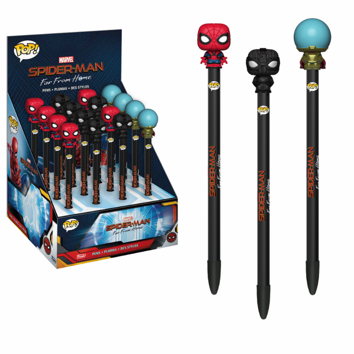 Funko Pen Toppers! Spider-Man Far From Home