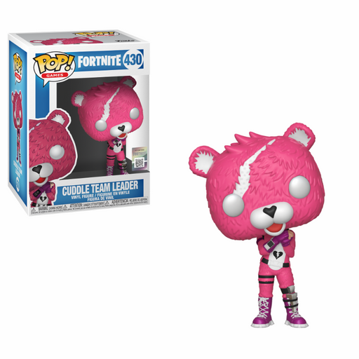 Funko POP! Vinyl Games: Fortnite S1 - Cuddle Team Leader