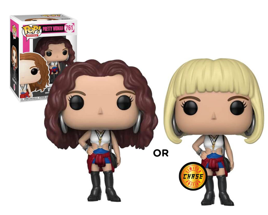 Funko POP! Movies: Pretty Woman - Vivian W/ Chase