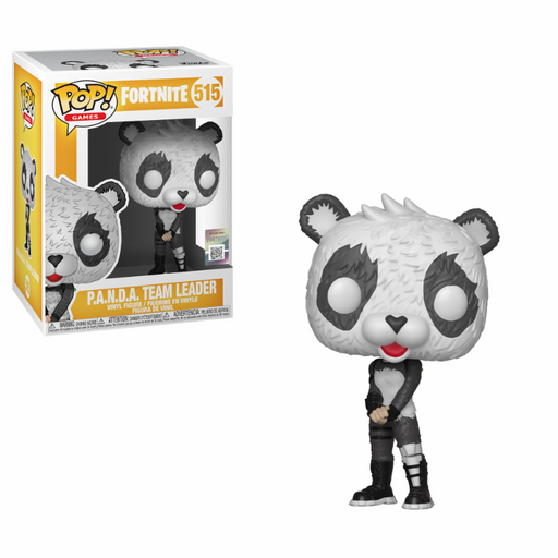 Funko POP! Vinyl Games: Fortnite S3 - P.A.N.D.A Team Leader