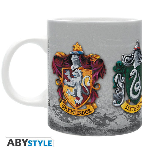 Harry Potter: 320 ml 4 houses Mug