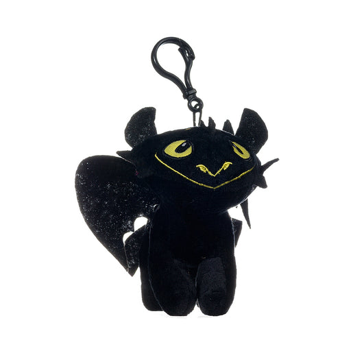 "How To Train Your Dragon Bag Clip 6"" Plush - Toothless"