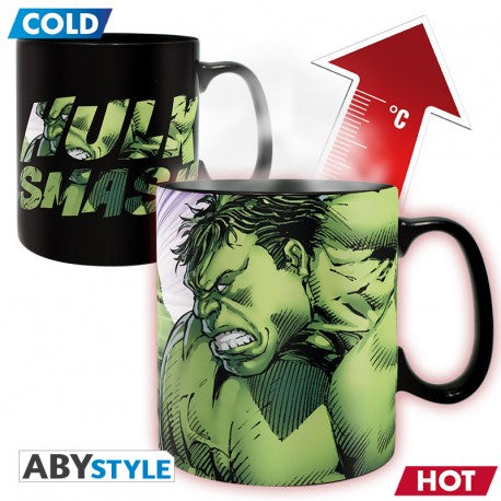 Marvel: Hulk 460 ml Heat Changing Mug