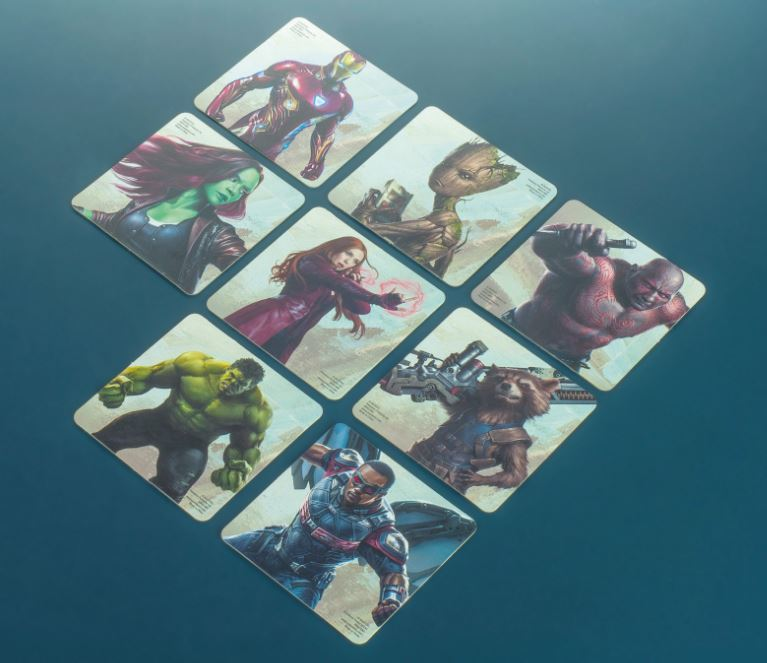 Marvel Avengers Infinity War Coasters