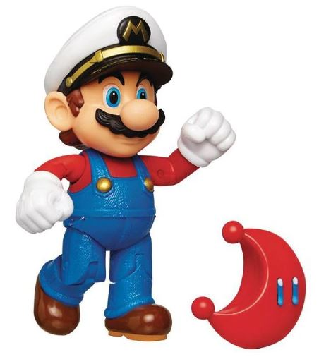 "Jakks Pacific Super Mario: Captain Mario 4"" Figure"