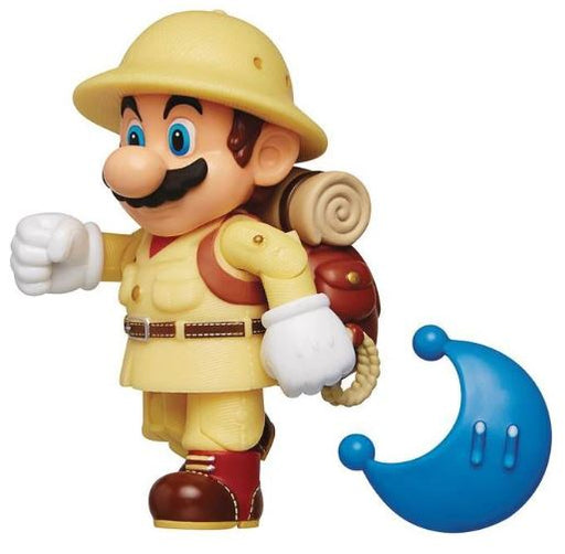 "Jakks Pacific Super Mario: Explorer Mario 4"" Figure"