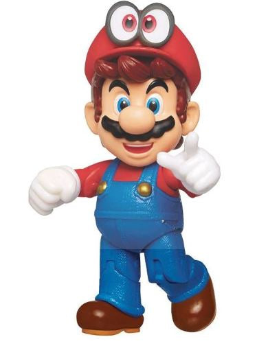 "Jakks Pacific Super Mario: Mario 4"" Figure"