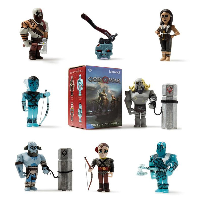 Kidrobot: God of War 3 Blind Box Mini series