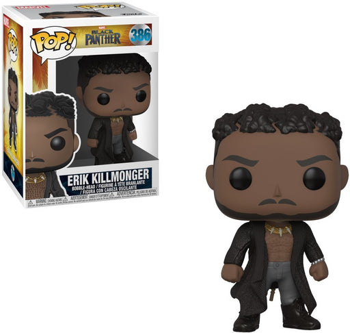 Funko: Marvel Black Panther - Erik Killmonger With Scars
