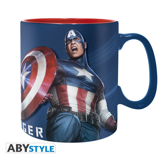 Marvel: Captain america 460 ml Mug