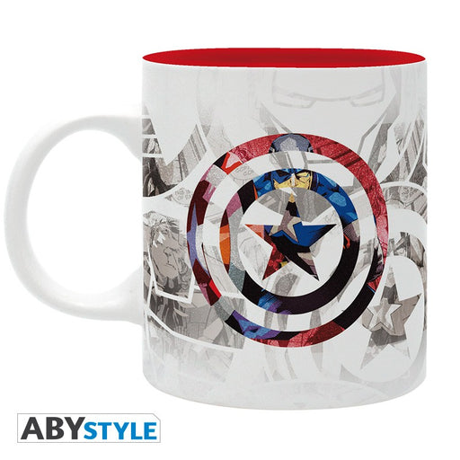 Marvel: Captain America Design 320 ml Mug