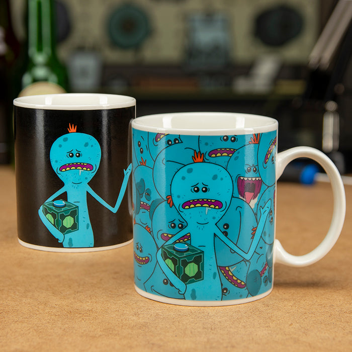 Rick And Morty: Mr Meeseeks Heat Changing Mug