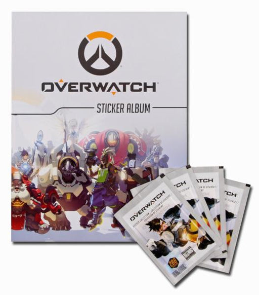 Overwatch Blizzard  Sticker Album Starter Pack