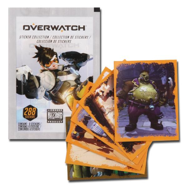 Overwatch Blizzard Sticker Packs