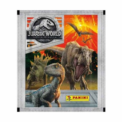 Panini: Jurassic World Fallen Kingdom Sticker Packs