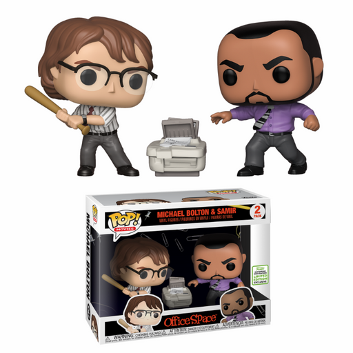 Funko POP! Movies: Office Space - Michael & Samir (ECCC)