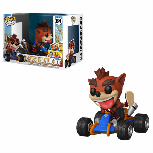 Funko POP! Games: Crash Team Racing - Crash Bandicoot