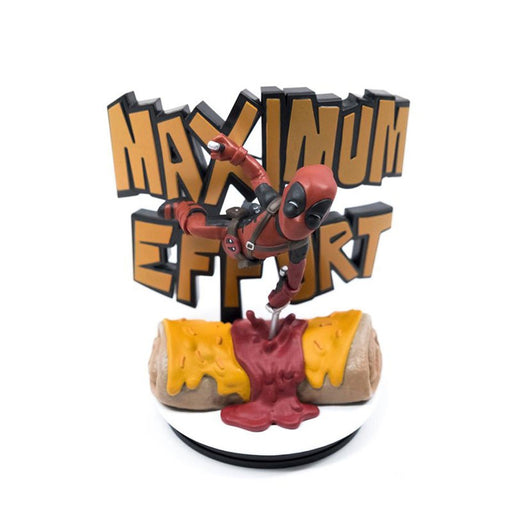 Q Fig Deadpool Maximum Effort Diorama