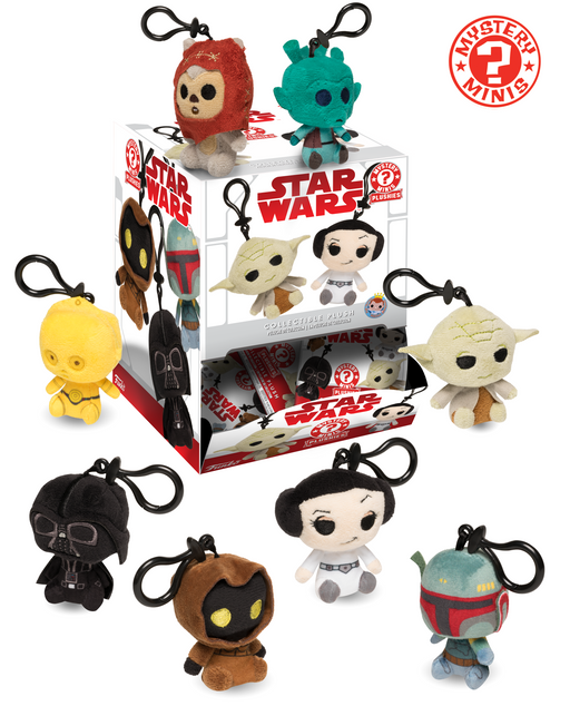 Funko Mystery Mini: Star Wars Classic Keychain Plush