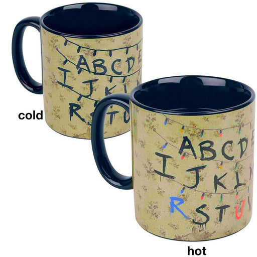 Funko: Stranger Things Alphabet Heat Reveal Mug