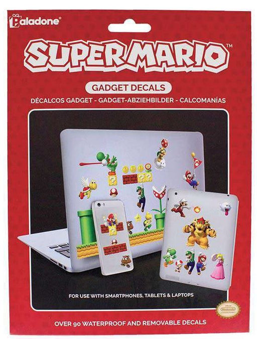 Super Mario Gadget Decals