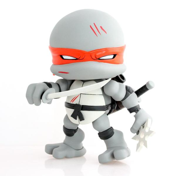 "The Loyal Subjects: TMNT 8"" Leonardo Action Vinyl - Battle Edition"