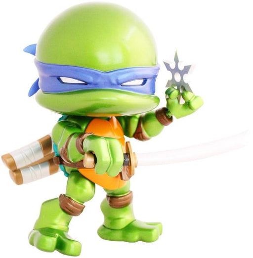 "The Loyal Subjects : TMNT 8"" Leonardo Action Vinyl - Metallic Edition"
