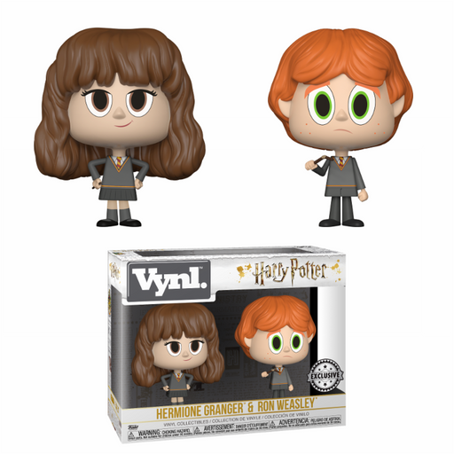 Funko Vynl: Harry Potter - Hermione + Ron (Broken Wand) EXC