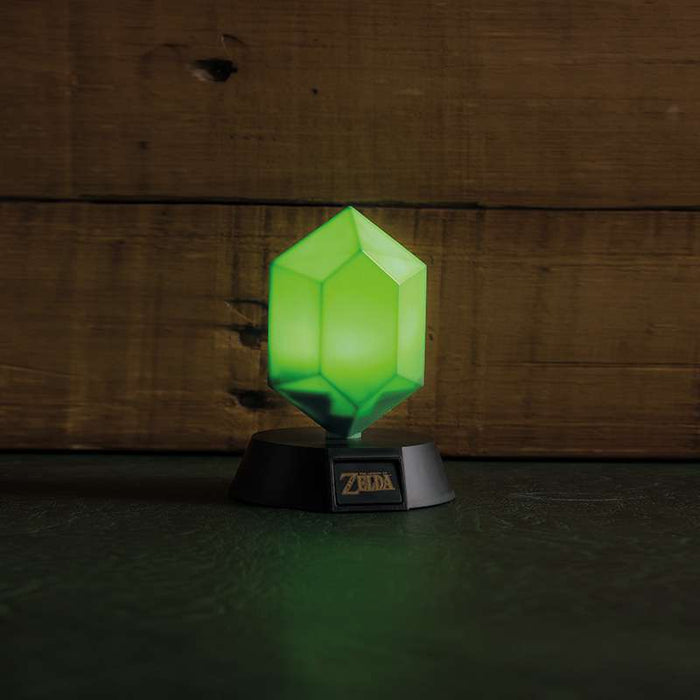 The Legend of Zelda Green Rupee 3D Light
