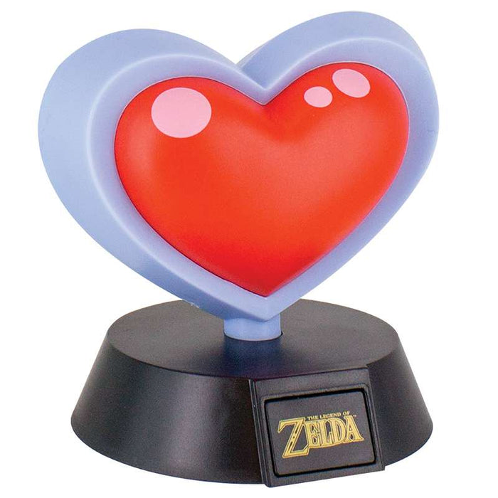 The Legend of Zelda Heart Container 3D Light