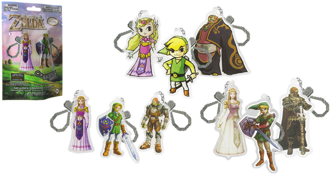 The Legend of Zelda Series 1 Backpack Buddies