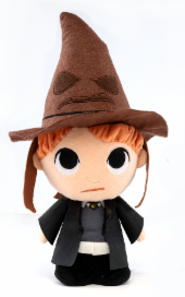 Funko Supercute Plush: Harry Potter - Ron With Sorting Hat