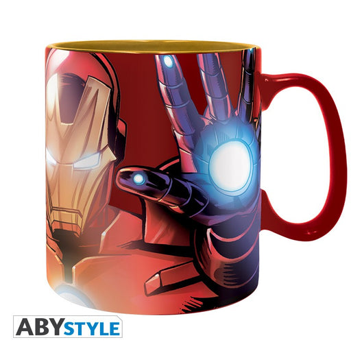 Marvel: Armored Avenger Iron Man 460 ml Foil Mug