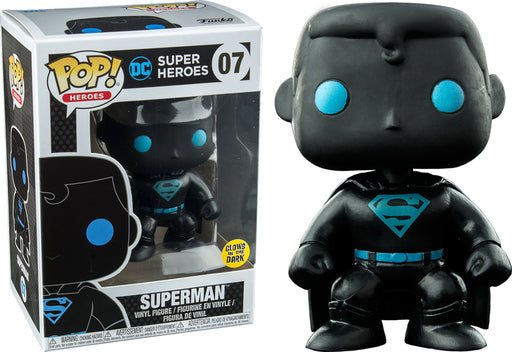 Funko POP! Vinyl DC Justice League Glow in the Dark Superman Silhouette (Exc)