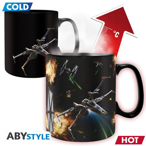Star Wars: Space Battle 460 ml Heat Changing Mug
