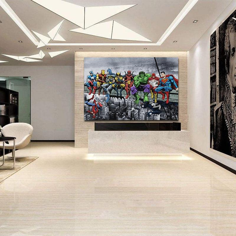 Tableau The Avengers | Art décoratif | Art moderne