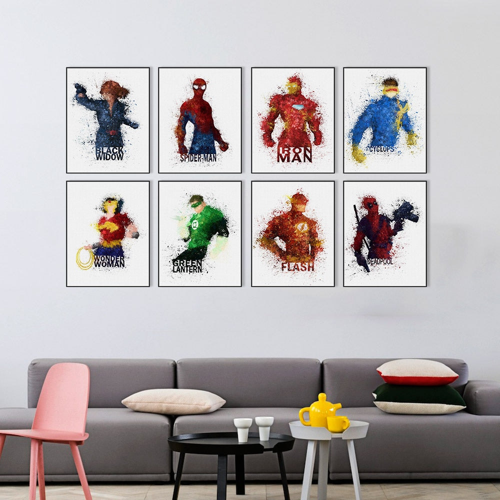 Tableau Marvel Comics | Art décoratif | Art moderne
