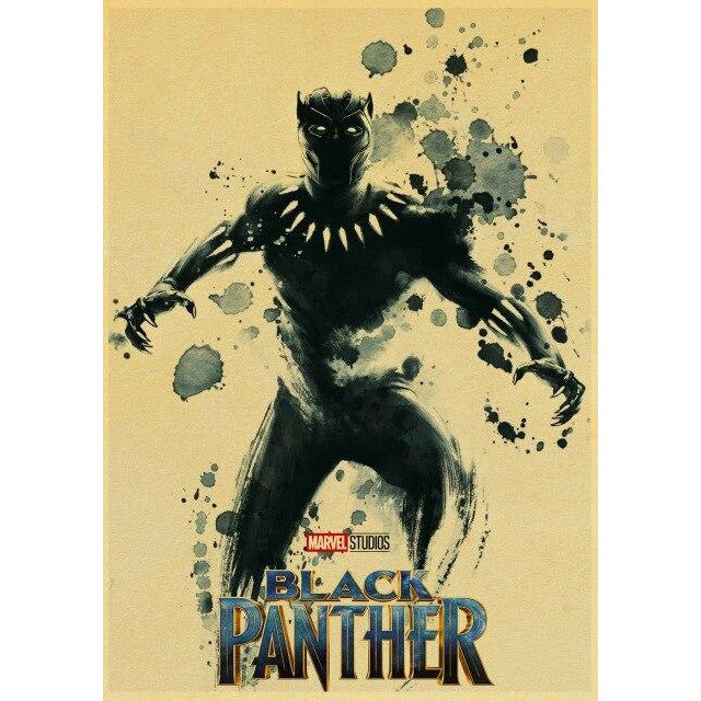 Poster Black Panther | Art décoratif | Art moderne