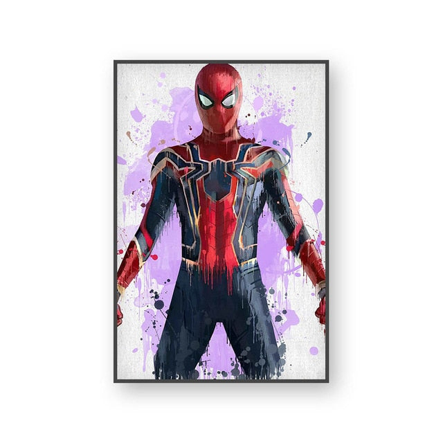 Poster Spiderman | Art décoratif | Art moderne