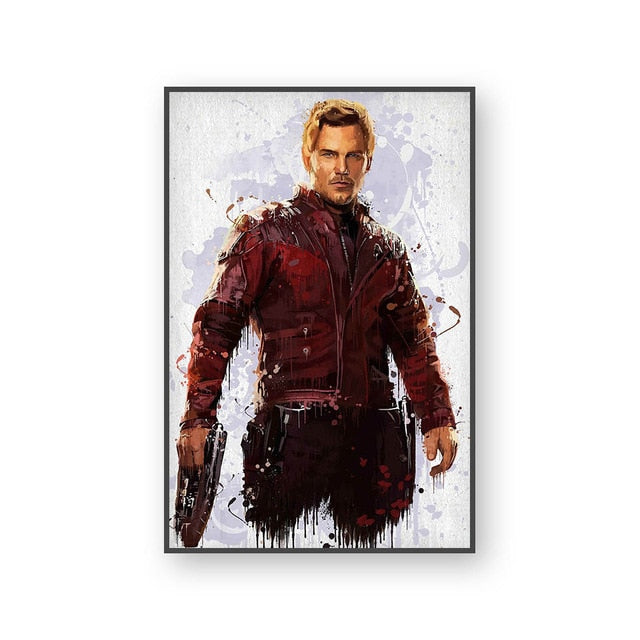Poster Star Lord | Art décoratif | Art moderne