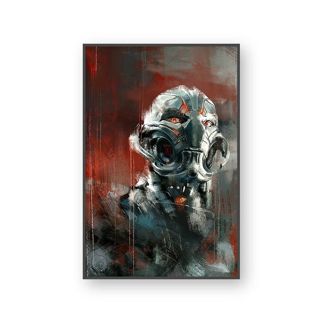 Poster Ultron | Art décoratif | Art moderne