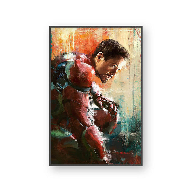 Poster Iron Man | Art décoratif | Art moderne