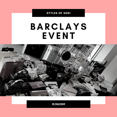 Showcase Day at Barclays Head Office