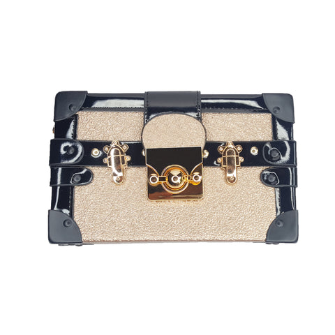 Aria Gold Chest Bag - Styles of Soki